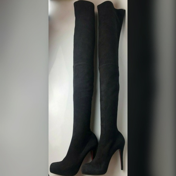 sports shoes 0da4b 07094 Christian Louboutin Monica Over Knee Boots 38